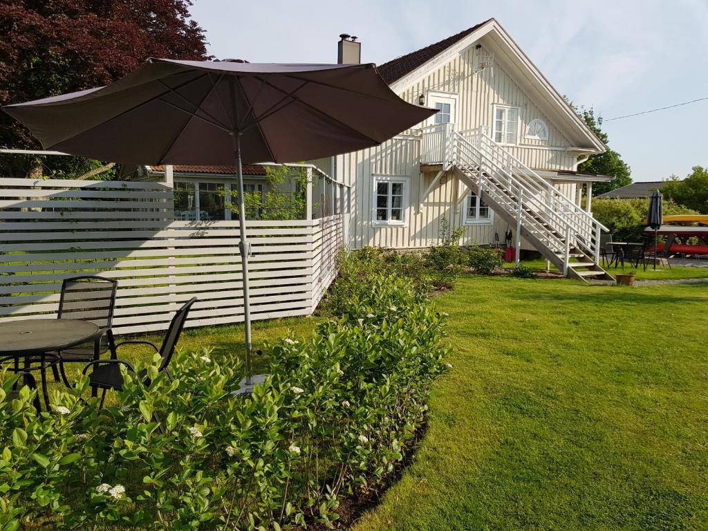 A garden outside Åsa Gästis
