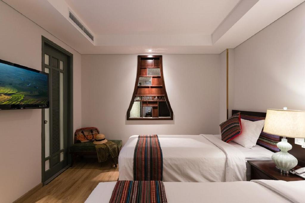 Phòng Superior 2 Giường đơn - Không có Cửa sổ