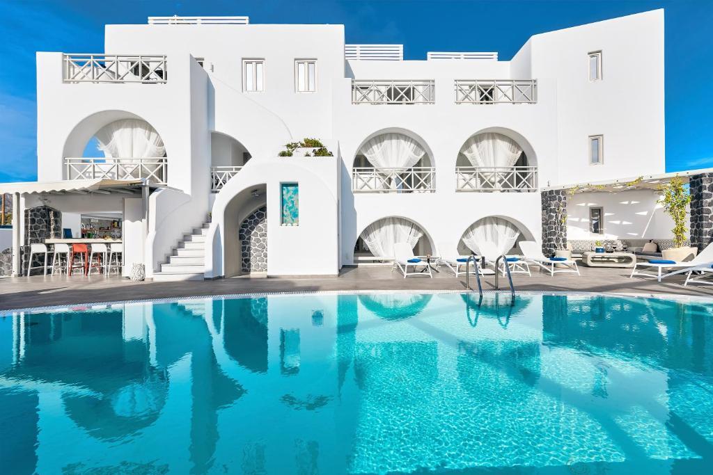 The swimming pool at or near La Bellezza Eco Boutique Hotel