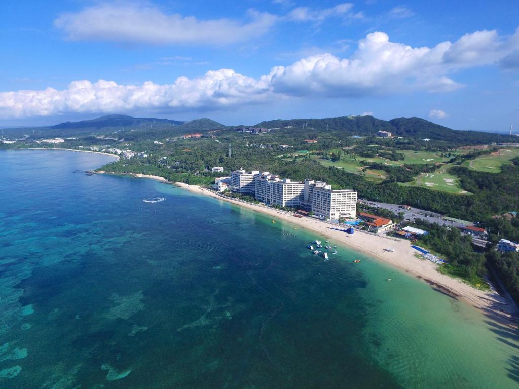 A bird's-eye view of Rizzan Sea Park Hotel Tancha Bay