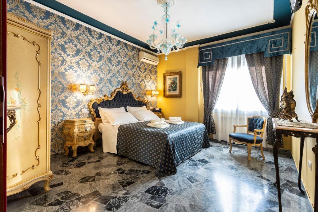 En eller flere senge i et værelse på La Bauta