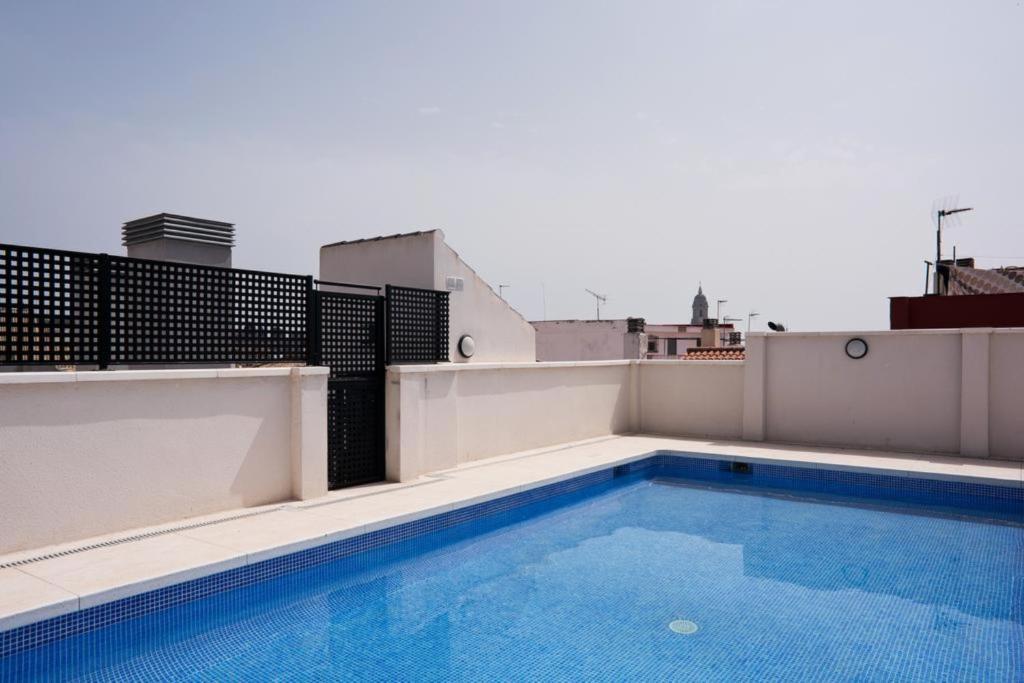 Apartment Atico Terraza Privada Piscina Centro Ac Nuevo 1hab