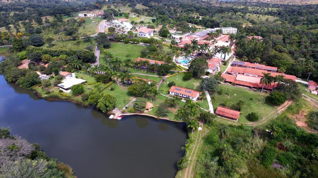 A bird's-eye view of Siriema Village Eco Resort