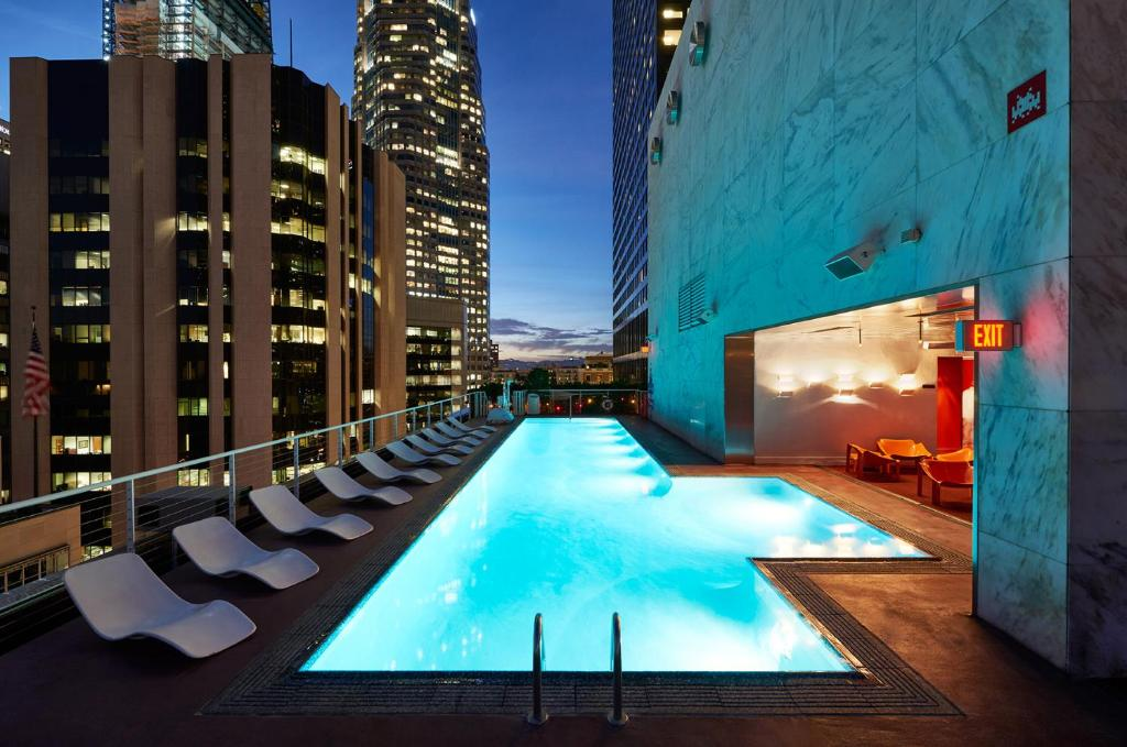 The swimming pool at or close to The Standard, Downtown LA