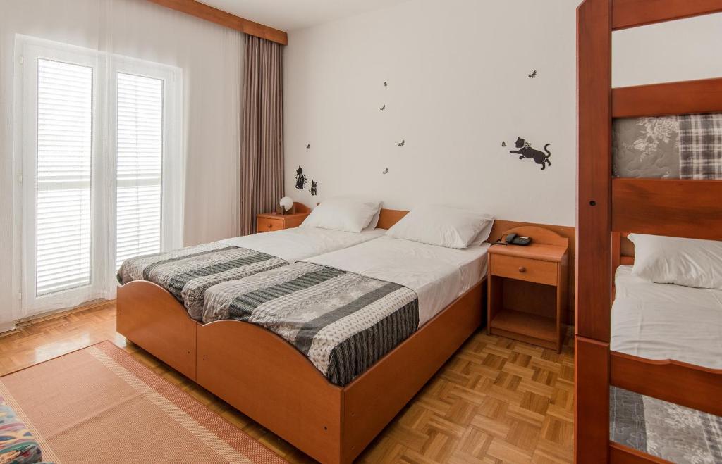 Krevet ili kreveti u jedinici u objektu Hotel Barba