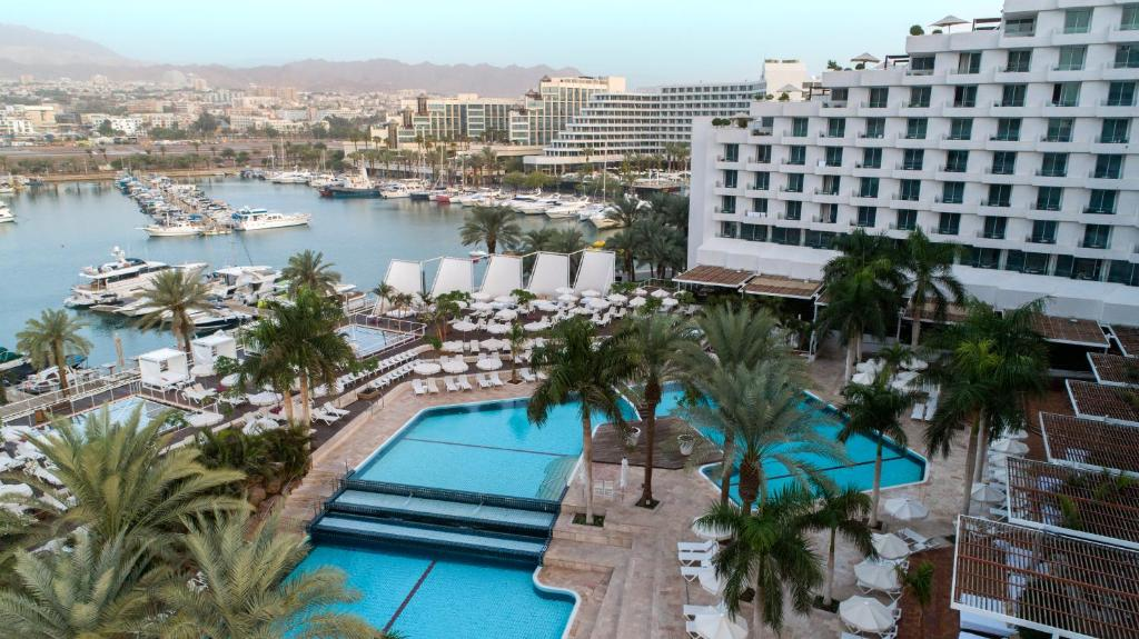 A view of the pool at Isrotel King Solomon Hotel or nearby