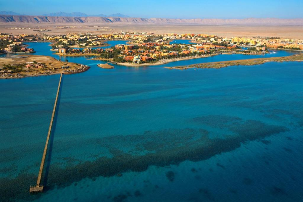 A bird's-eye view of Sheraton Miramar Resort El Gouna