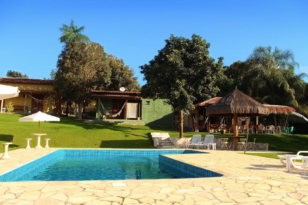 The swimming pool at or near Guappo Socorro