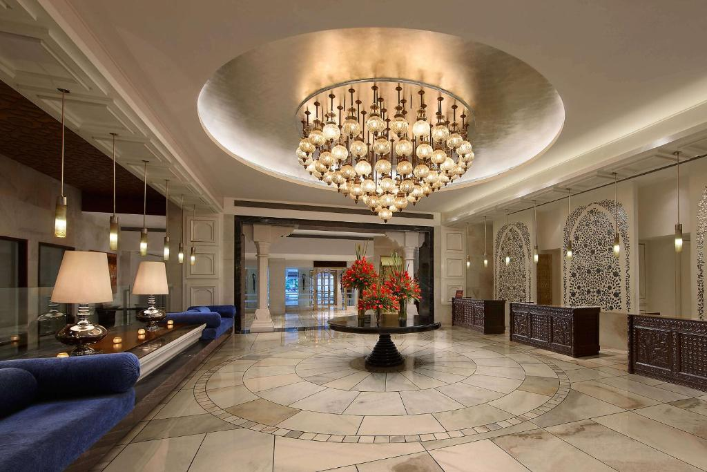 The lobby or reception area at ITC Mughal, A Luxury Collection Resort & Spa, Agra