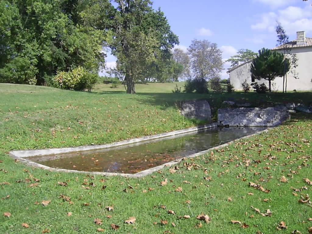 Jardin de l'établissement Gite lieu dit Gautier
