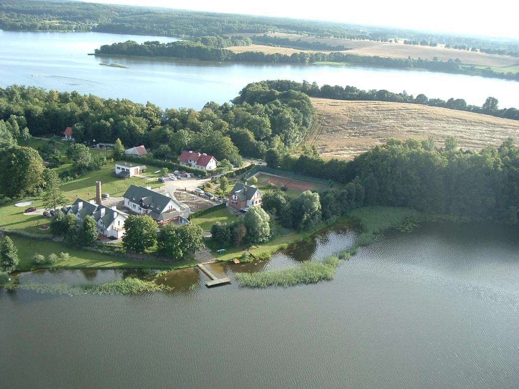 A bird's-eye view of Siedlisko Agroturystyczne