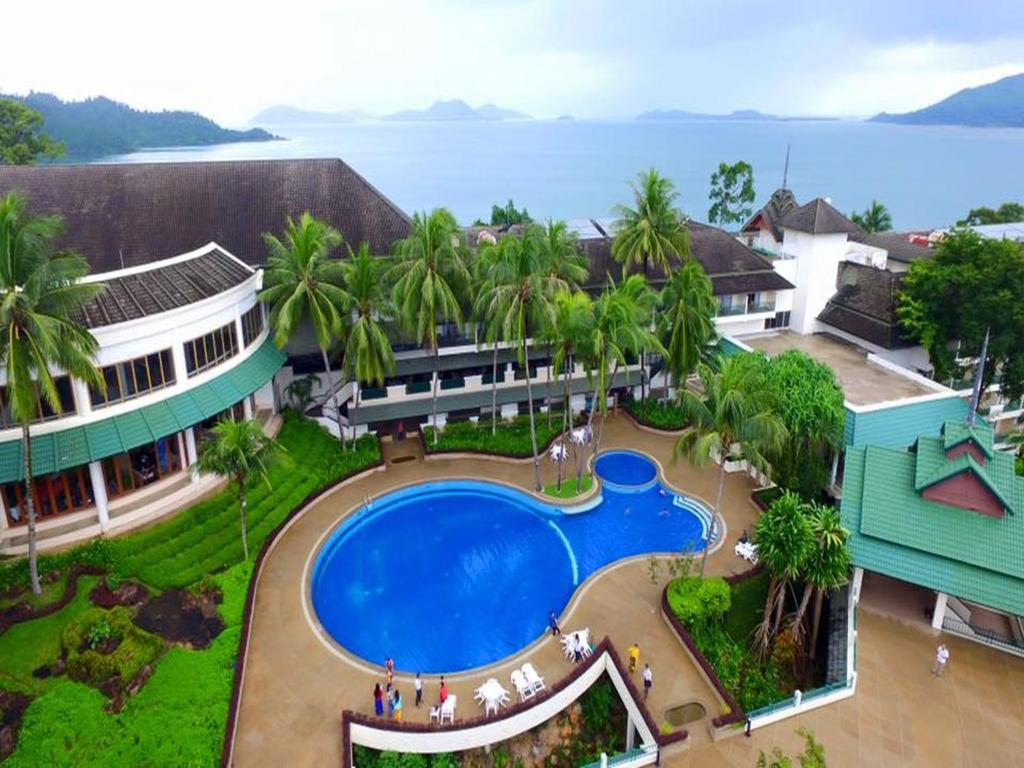 A view of the pool at Grand Andaman Hotel or nearby