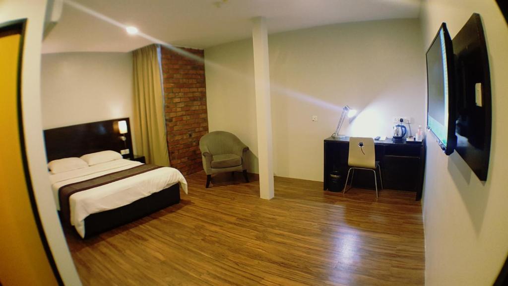 Galeri gambar di penginapan Hotel Paling Murah di Pulau Pinang-Harga Bawah RM100