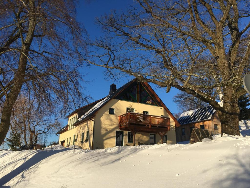 Ferienwohnung Lämpelberg im Winter
