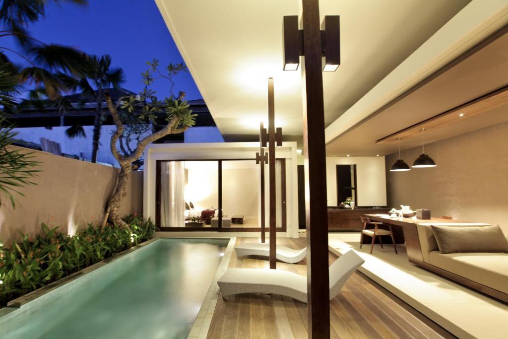 A kitchen or kitchenette at Asa Bali Luxury Villas & Spa
