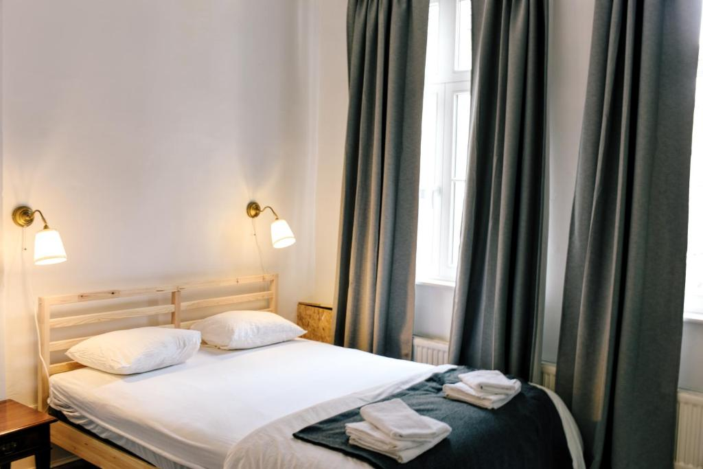 A bed or beds in a room at Bed Namur