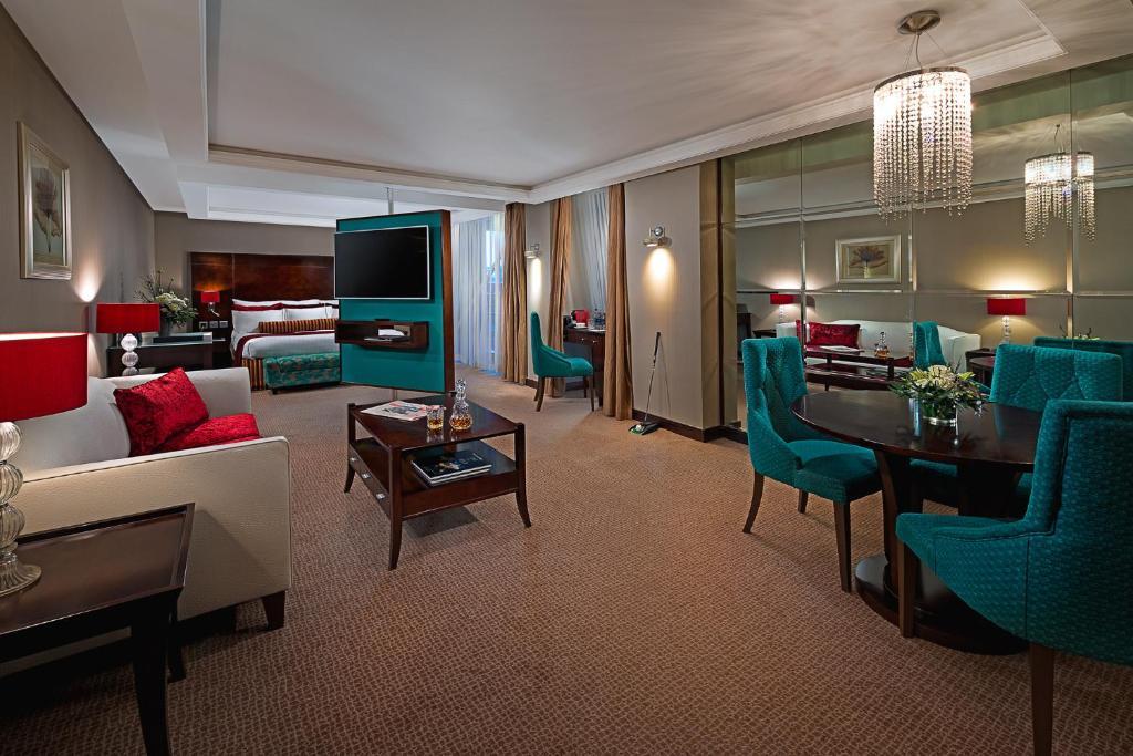 Zona d'estar a The Savoy Hotel