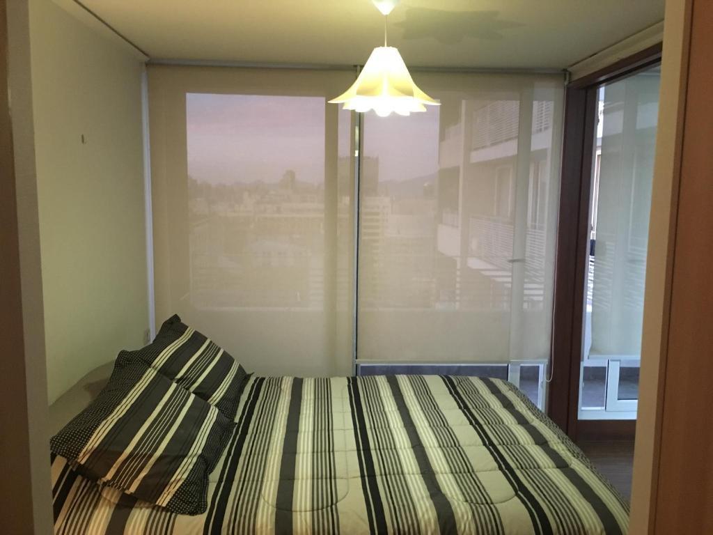Cama o camas de una habitación en Departamento San Diego 3
