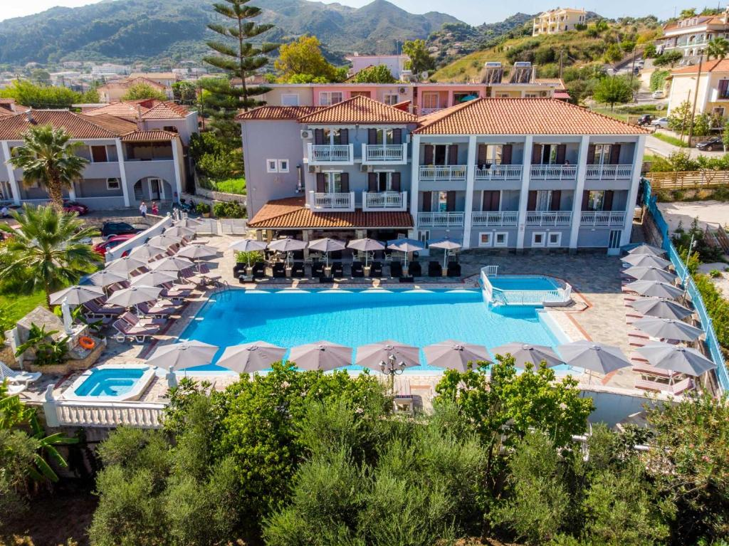 A view of the pool at Anamar Zante Hotel or nearby