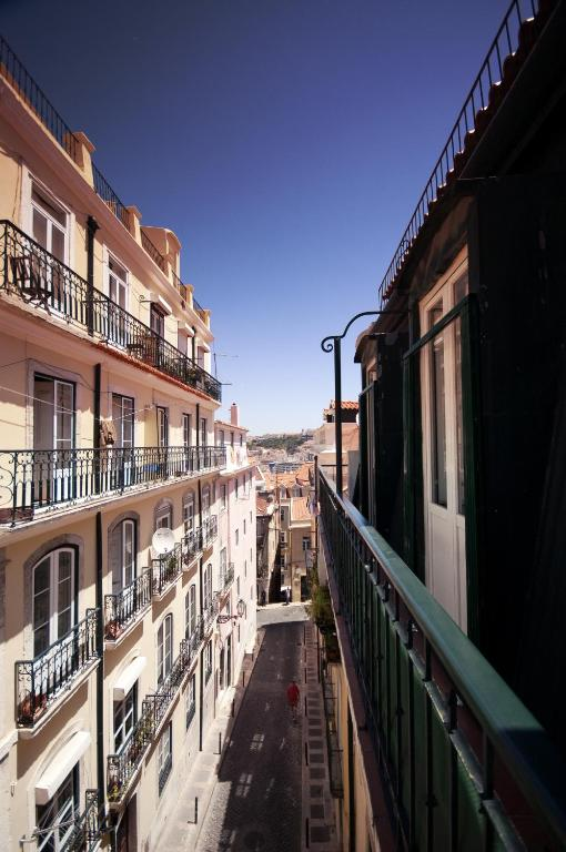 Terrace View in Chiado