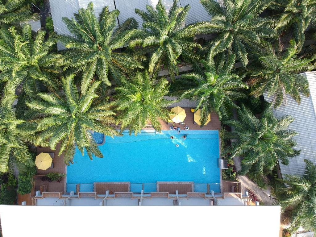 The swimming pool at or near Le Pes Villas