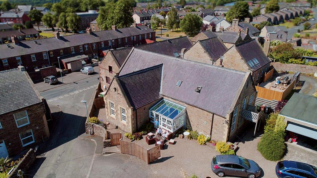 A bird's-eye view of The Old School House
