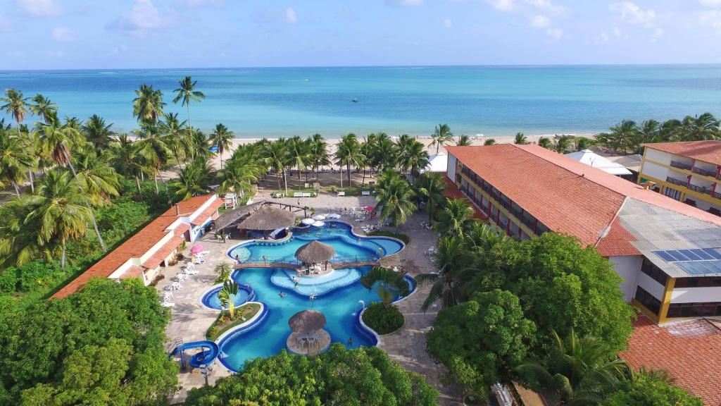 A bird's-eye view of Hotel Praia Dourada