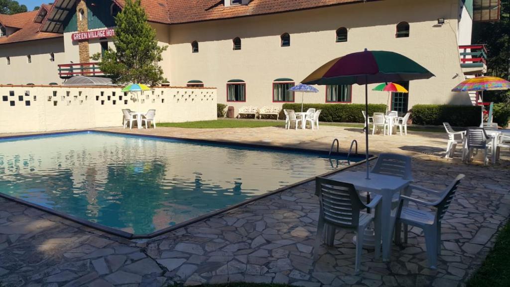 A piscina localizada em Green Village Hotel ou nos arredores