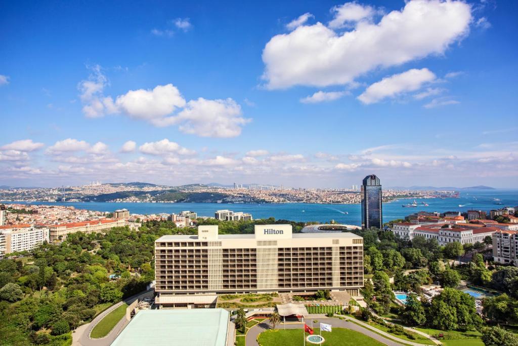 A bird's-eye view of Hilton Istanbul Bosphorus