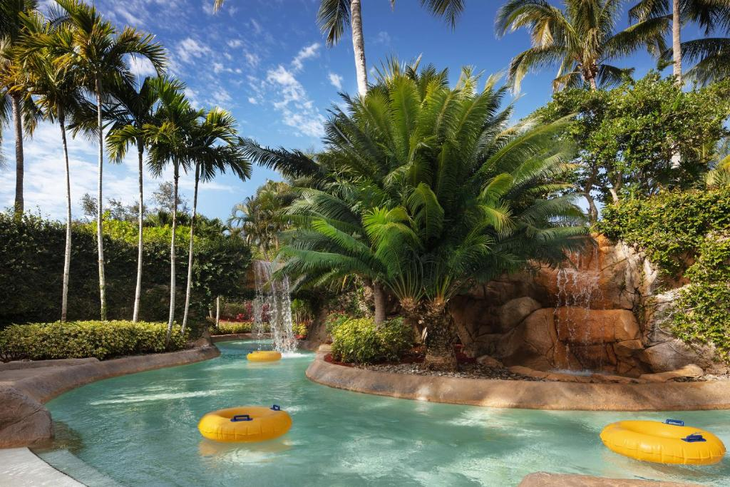 The swimming pool at or near Hyatt Residence Club Bonita Springs, Coconut Plantation