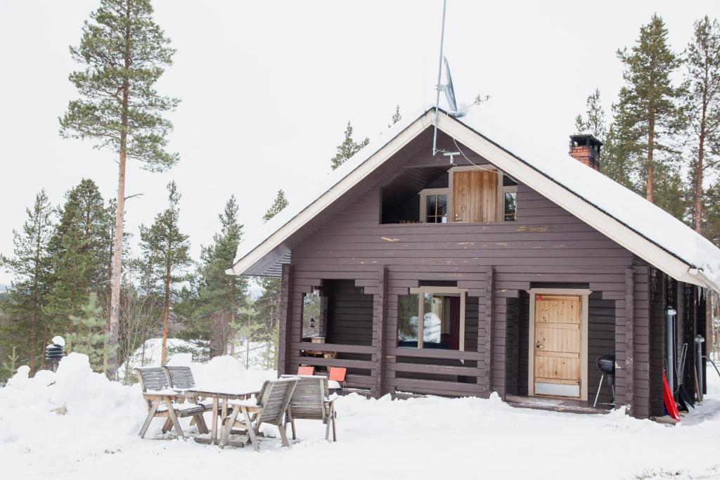 Hillside Cottage Ivalo Finland