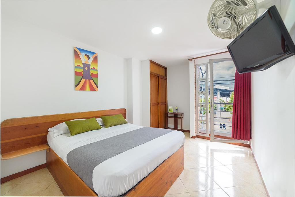 Cama o camas de una habitación en Ayenda 1214 White House