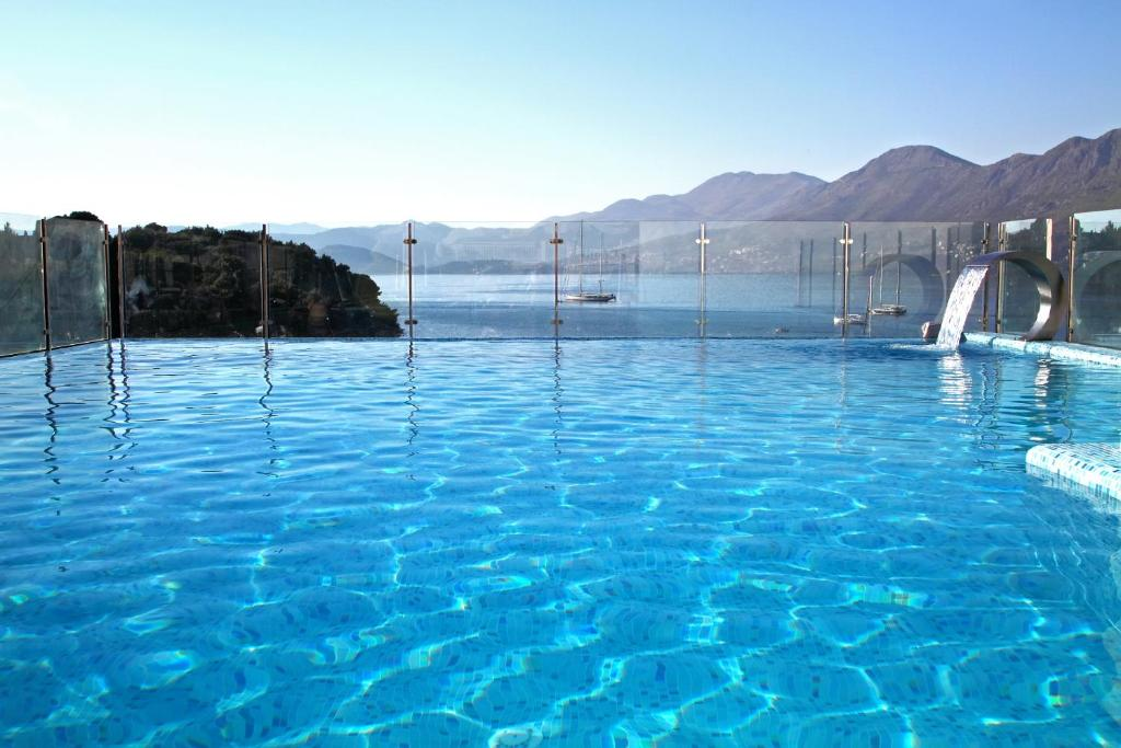 The swimming pool at or near Hotel Cavtat