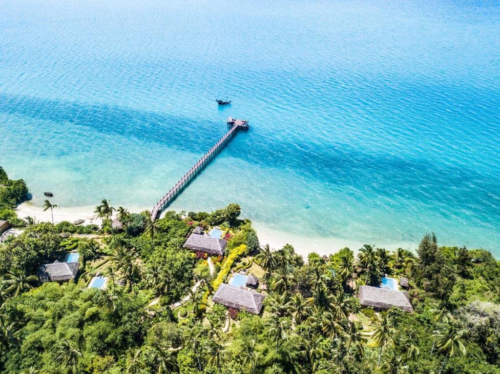 Tầm nhìn từ trên cao của Zanzi Resort