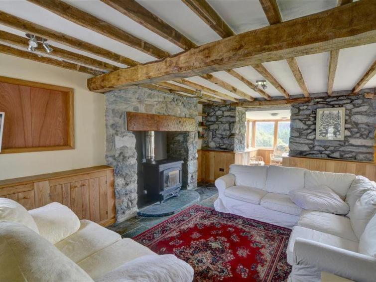A seating area at Llanfachreth Villa Sleeps 9 WiFi