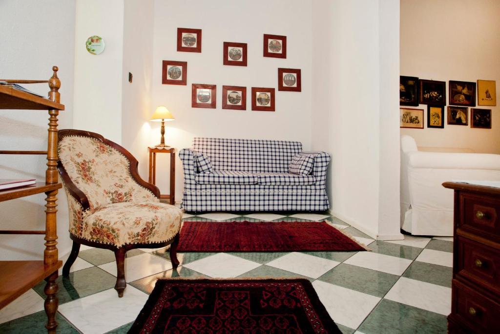 A seating area at Hungarian Souvenir