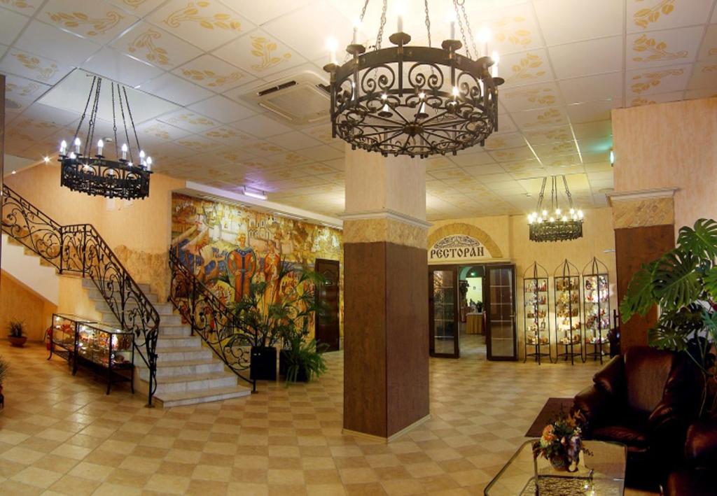 Лобби или стойка регистрации в Гостиница Садко
