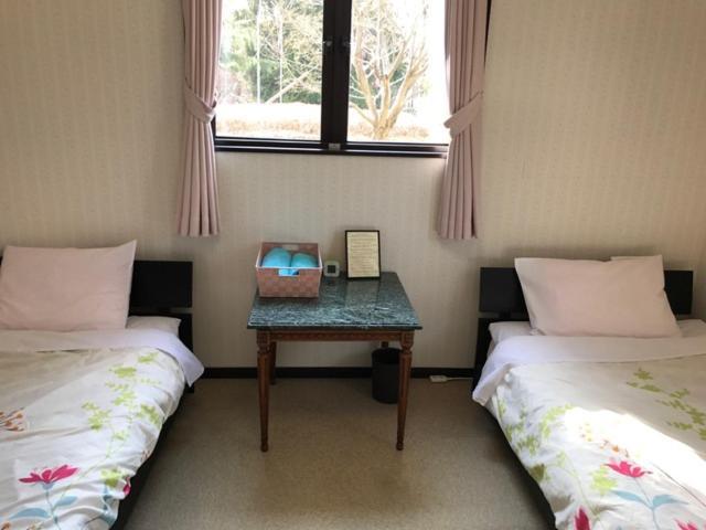 デンズインにあるベッド