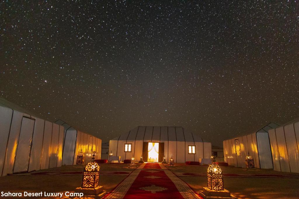Maroko Sahara Desert Luxury Camp svatební cesta