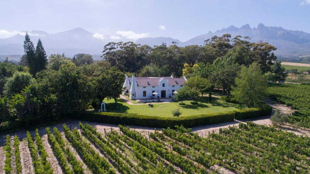A bird's-eye view of Andreas Country House