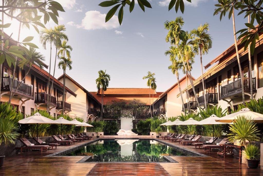 The swimming pool at or near Anantara Angkor Resort