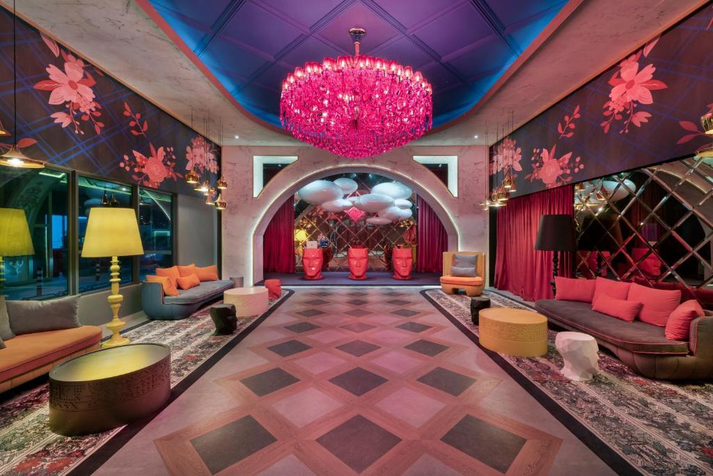 Lobby alebo recepcia v ubytovaní Arte Plus by Afflexia Serviced Suites KLCC