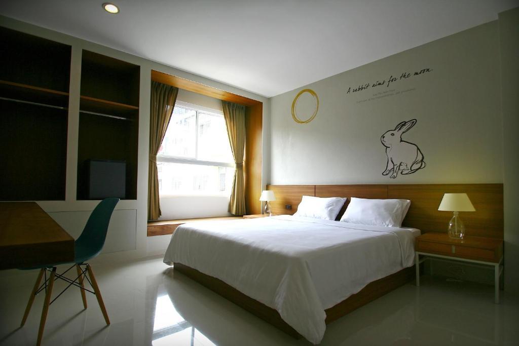 Un ou plusieurs lits dans un hébergement de l'établissement CHERN Hostel