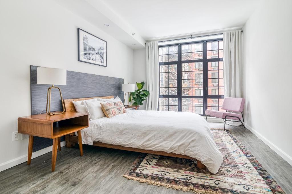 Letto o letti in una camera di 138 Bowery