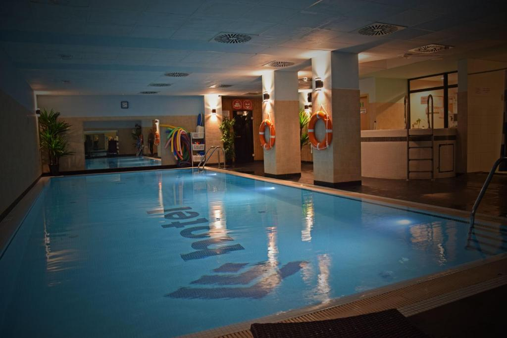 The swimming pool at or close to Quality Silesian Hotel