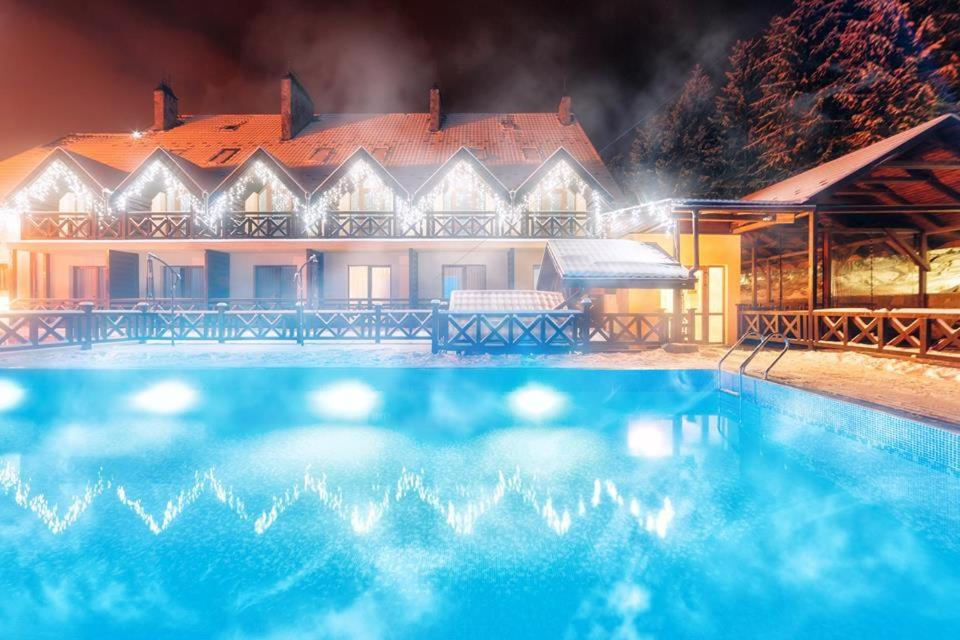 The swimming pool at or near Hotel Rubel