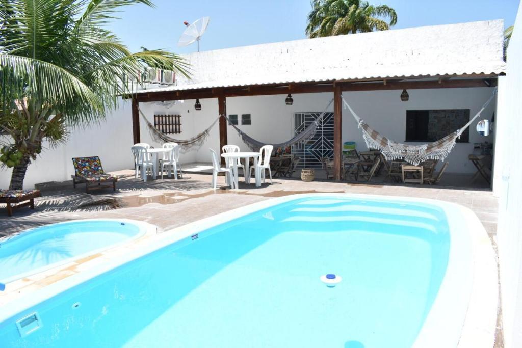 The swimming pool at or close to Pousada Barra Grande