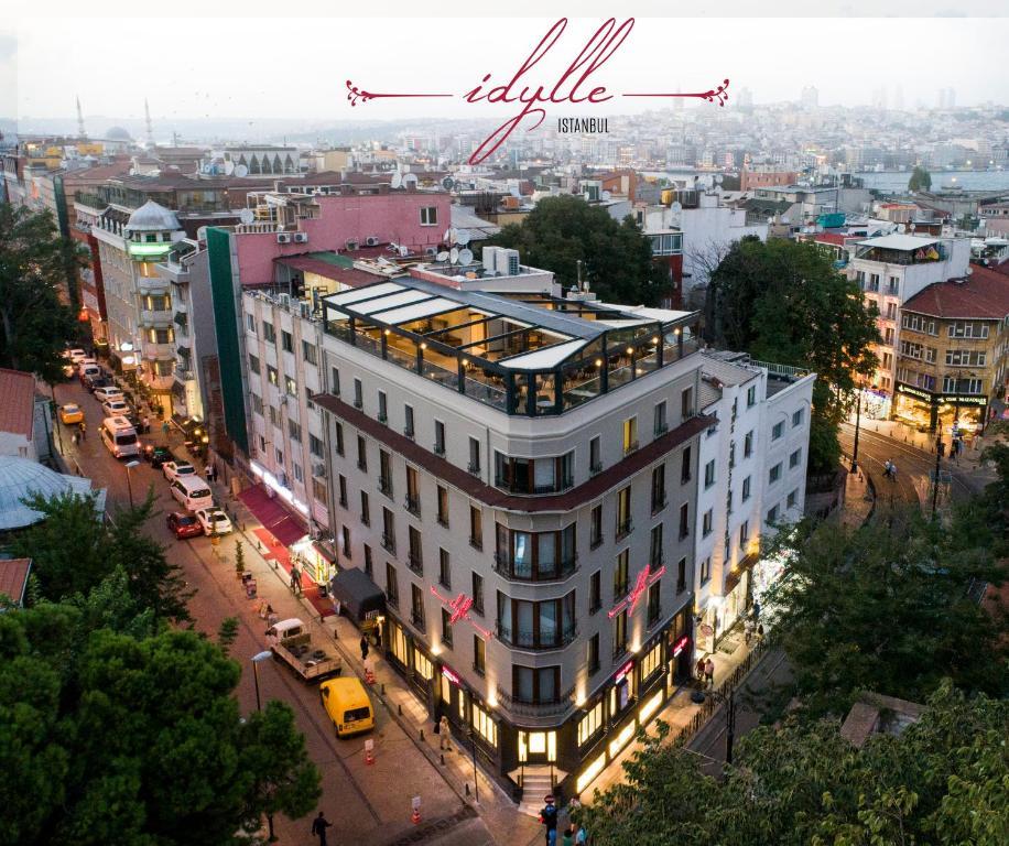 A bird's-eye view of Idylle Hotel