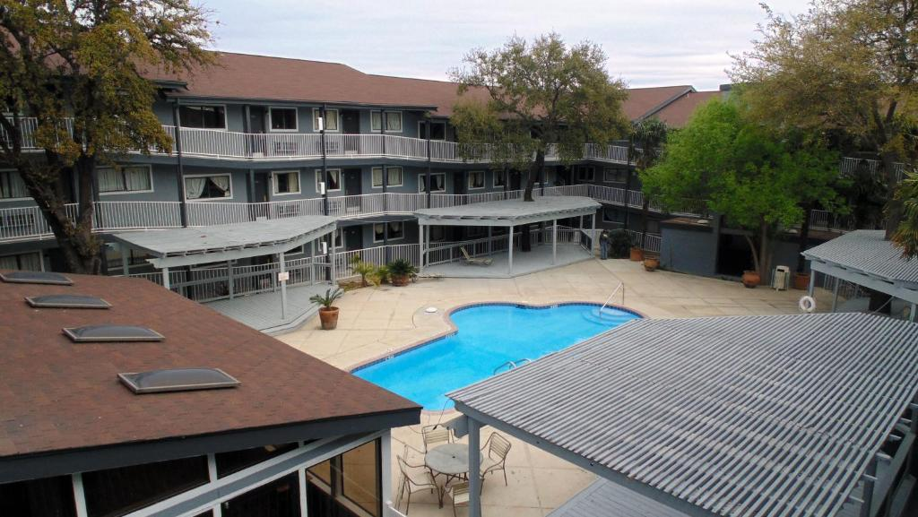 A view of the pool at Home Suites or nearby