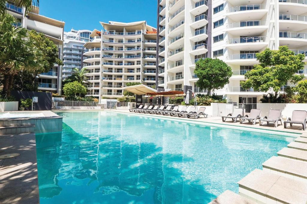 The swimming pool at or near Trilogy Surfers Paradise